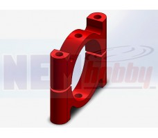 Tube Clamp 30mm Metal -Red