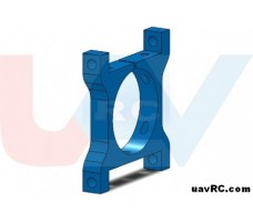 CNC Tube Clamp 25mm Metal -Blue