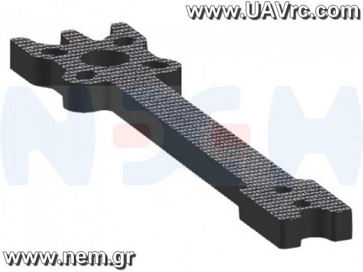 "5.5"" Prop Carbon Motor Arm 5mm thickness x4pcs -D216mm"