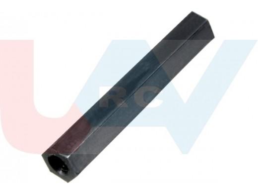 Standoff 25mm for M3 screw, Hexagon -Nylon