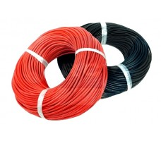 Silicone cable 12AWG x1mtr. -Red