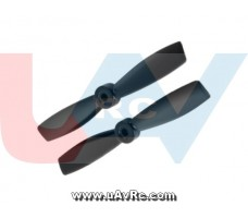 Bullnose 3.5x4.5 Propeller set CW/CCW -Black