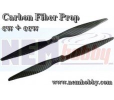 Carbon Fiber 13x4 CW+CCW -Set